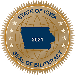 2021 Biliteracy Seal
