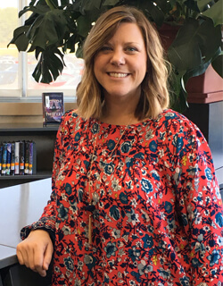 Emily Willett, one of 14 IN work-based coordinators across the state, works with students in six area high schools: Indianola, Norwalk, Southeast Polk, Urbandale, West Des Moines and Waukee.