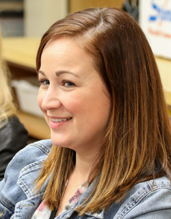 Jill Nunez, instructional coach